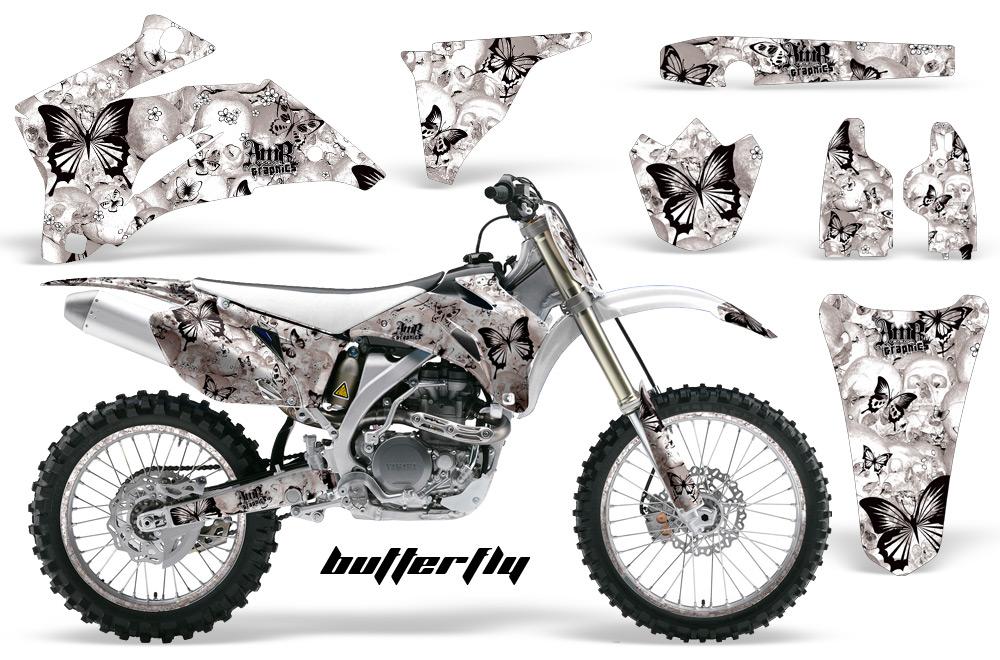 yamaha yz250f 450f 4 stroke motocross graphic kit 2006