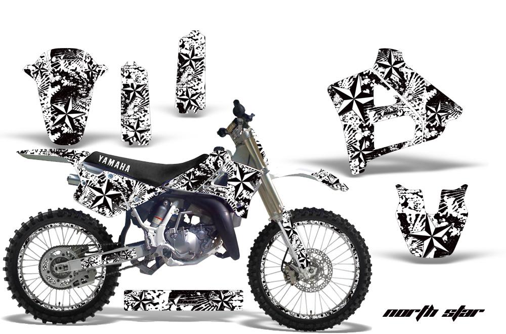 Yamaha YZ125 2 Stroke Motocross Graphic Kit (1991-1992)
