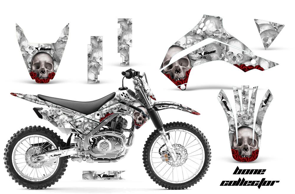 2008-2016 KLX140 Graphics kit! Kawasaki Motocross Graphic