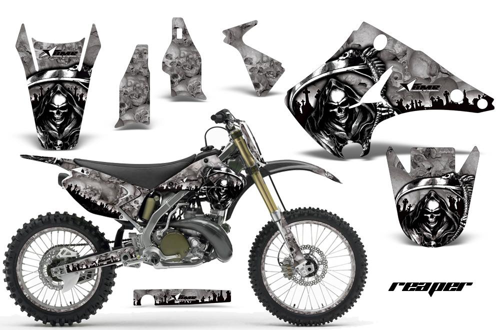 2003-2016 KX125-KX250 Graphics kit. Kawasaki Motocross
