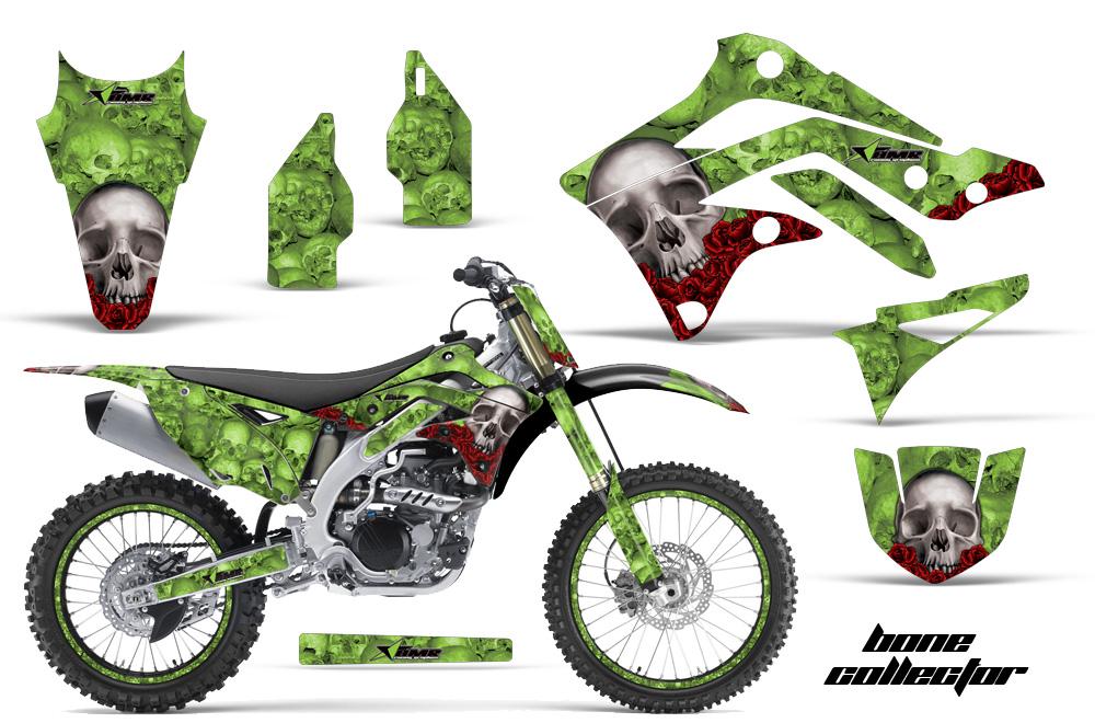 2014 Ski Doo Snowmobile Headlight Wiring Diagram 2012 2015 Kx450f Graphics Kit Kawasaki Motocross Graphic