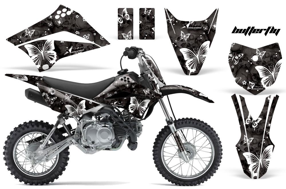2010-2015 KLX110 Graphics kit. Kawasaki Motocross Graphic