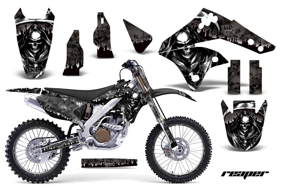 2006-2008 KXF250 Graphics kit! Kawasaki Motocross Graphic