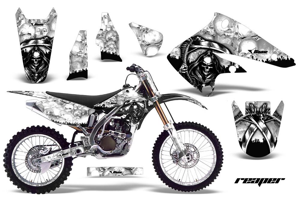 2004-2005 KX250f Graphics kit. Kawasaki 250 Motocross