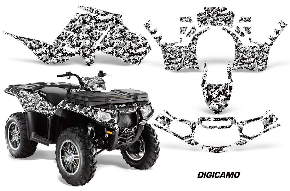Polaris Sportsman 850 ATV Quad Graphic Kit 2016 by AMR