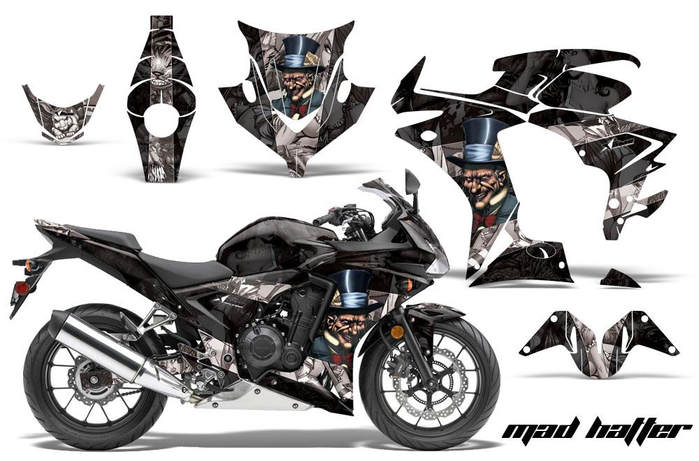 2013-2014 Honda CBR500R Street Bike Graphic decal sticker