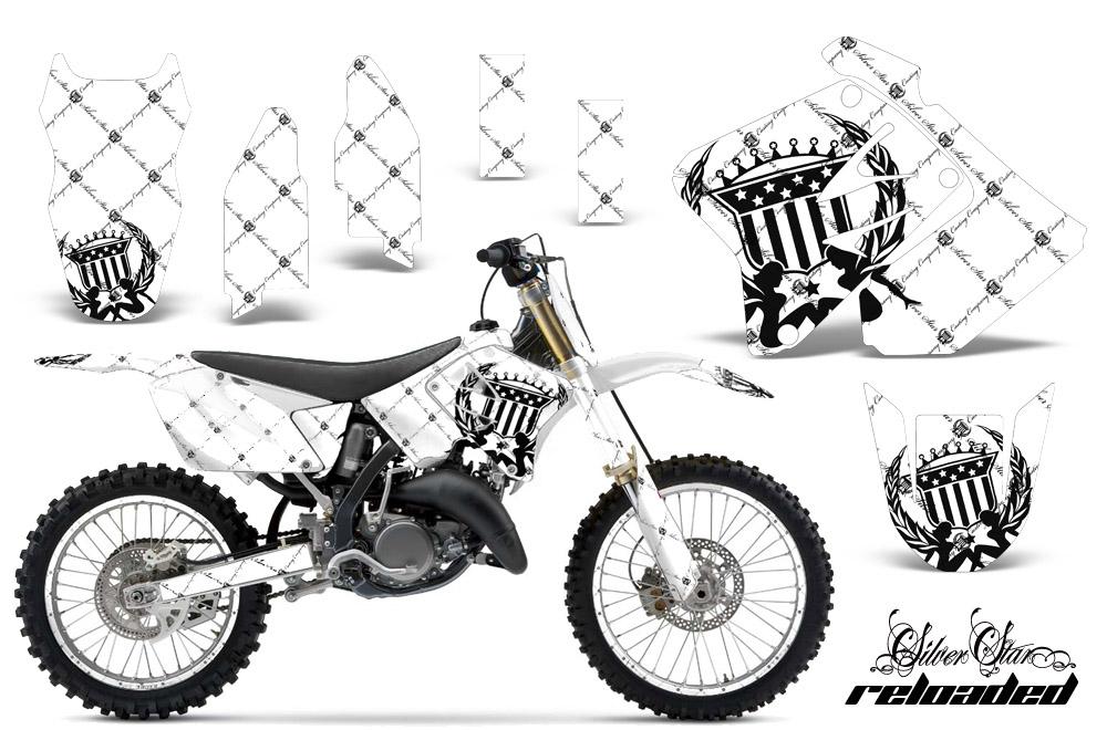 Suzuki RM 125/250 Dirt Bikes Graphic Kit 2001-2009