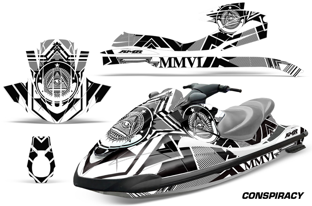Yamaha Wave Runner Graphic kit for 94-96 models. Over 40
