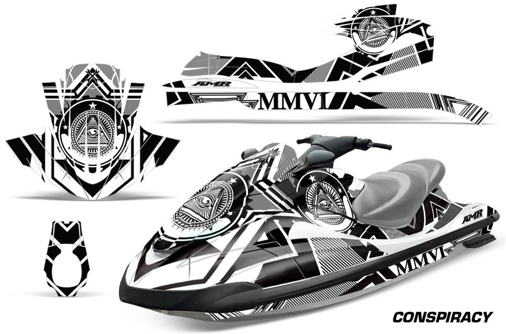 Yamaha Wave Runner Graphic kit for 94-96 models. Over 40