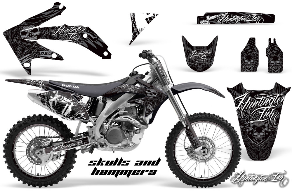 2002 2008 honda cr 125 250 r dirt bike graphics kit motocross
