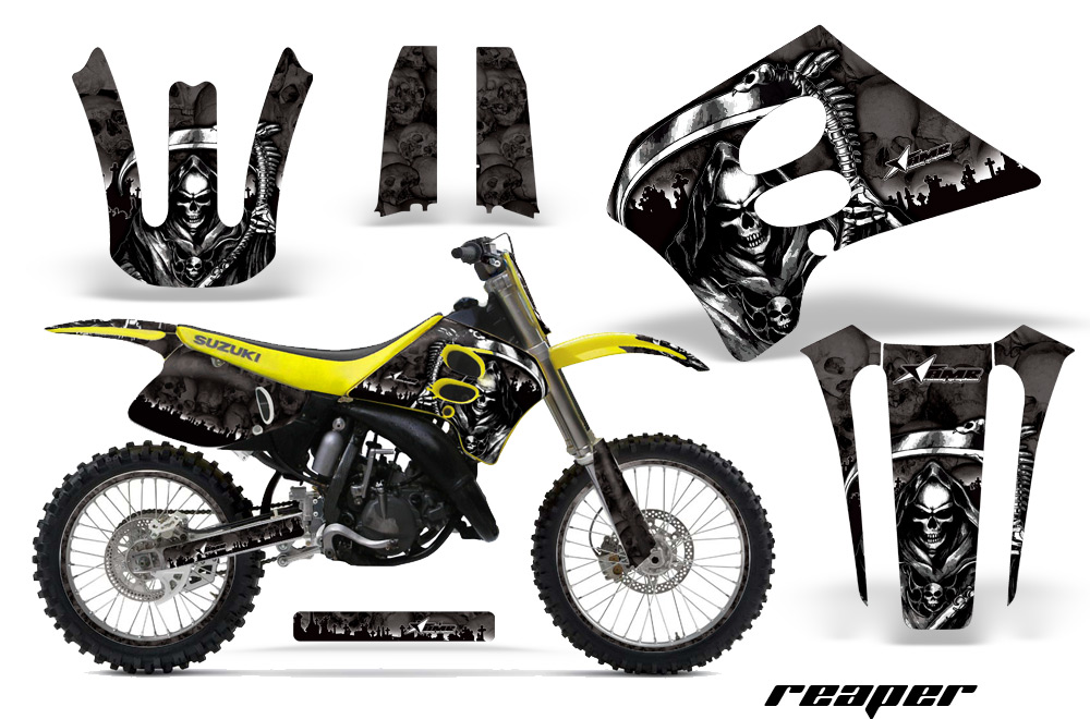 Suzuki RM 125/250 Dirt Bikes Graphic Kit 1993-1995