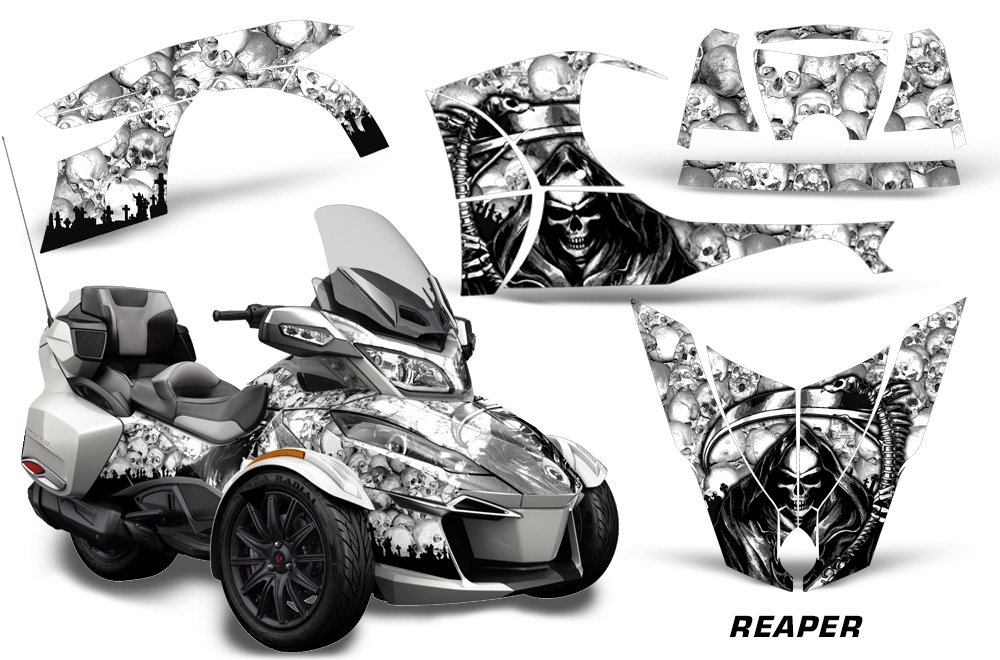 Decal graphic sticker kit for Can Am Spyder RTS Roadster Bike