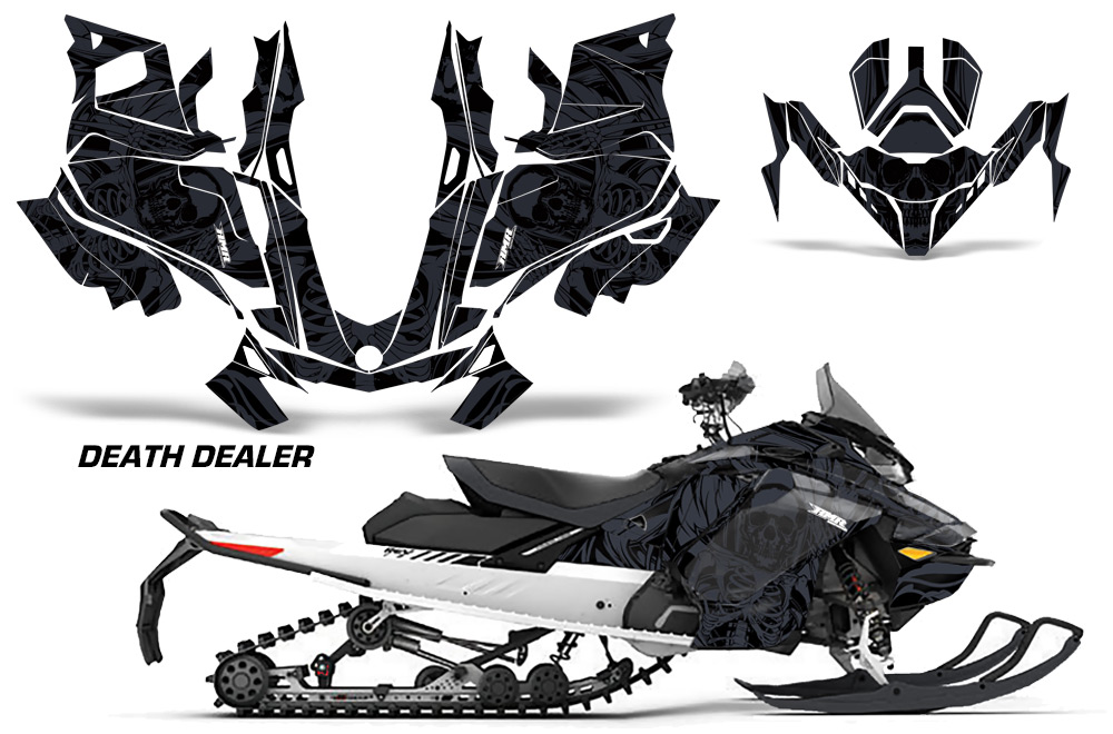 Ski Doo Gen 4 Sled Graphic decal sticker wrap Kit