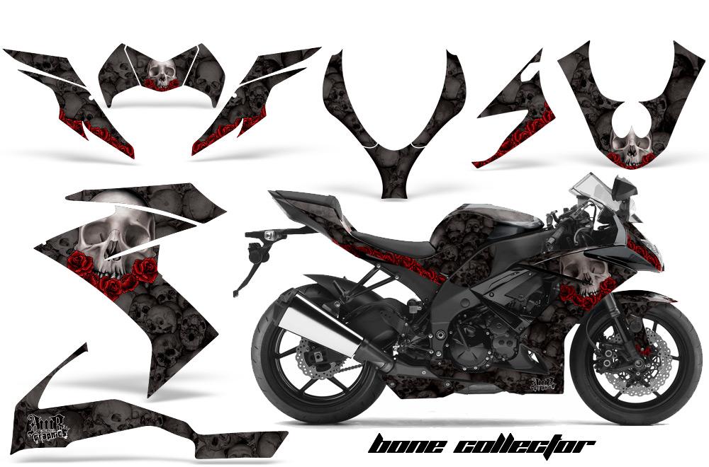 Kawasaki ZX10 Ninja Sport Bike Graphic Kit (2008-2009)