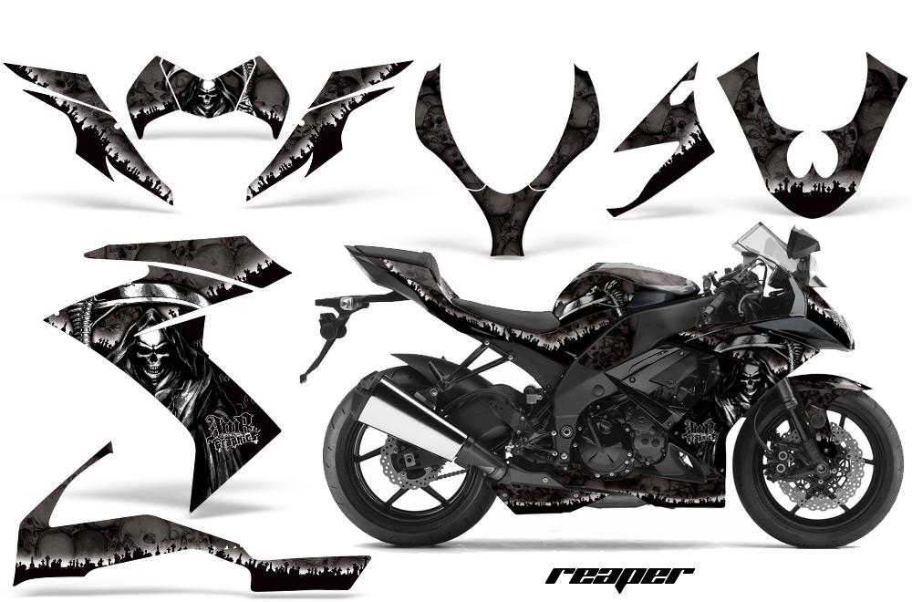 2008,2009,2010 Kawasaki ZX10 Ninja Street Bike Graphic