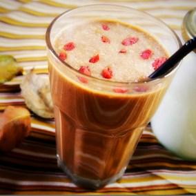 Amrutha Lounge Chocolate superfood smoothie