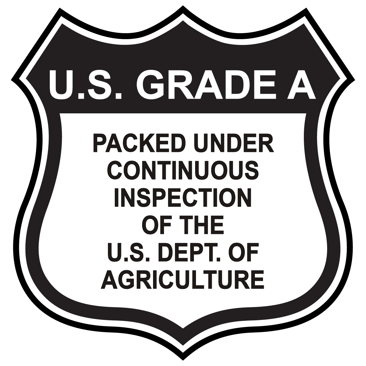 Grade and Quality Labels for Fruits Vegetables and