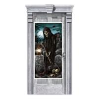 Haunted House Door Decorations 1.65m x 85cm - 6 PKG ...