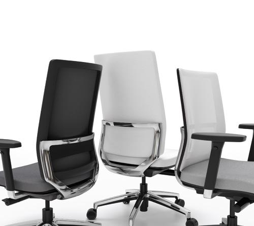 Silla giratoria forma 5 2k8 muebles de oficina mart nez for Silla sentis forma 5