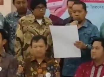 Meriahnya Deklarasi Asosiasi Media Siber Indonesia (AMSI), Menkominfo Ikut Letuskan Balon