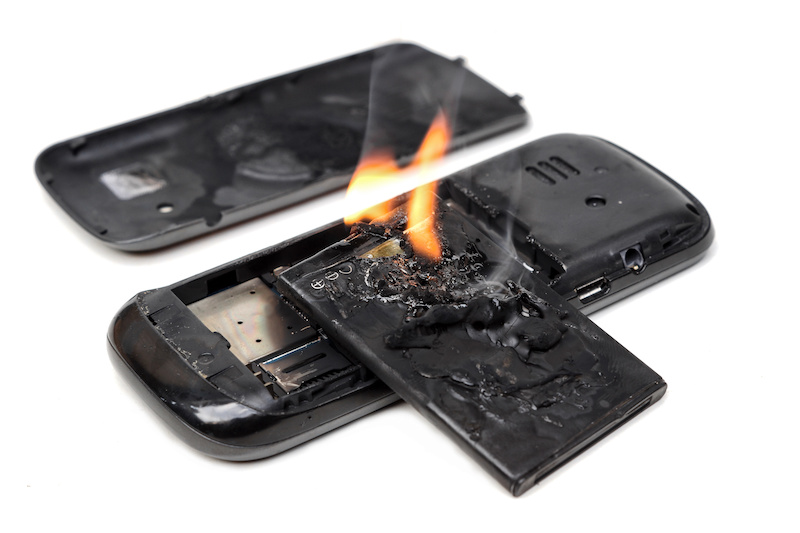 lithium battery explosion risks