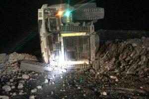 haul truck mount arthur
