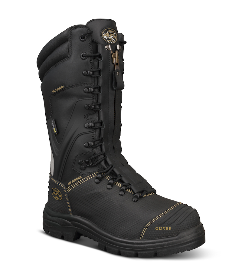waterproof work boots mining
