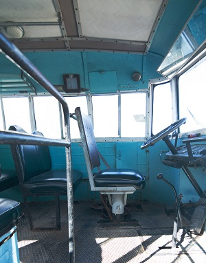 Old vehicle seating in heavy vehicles was prone to vibration and damage