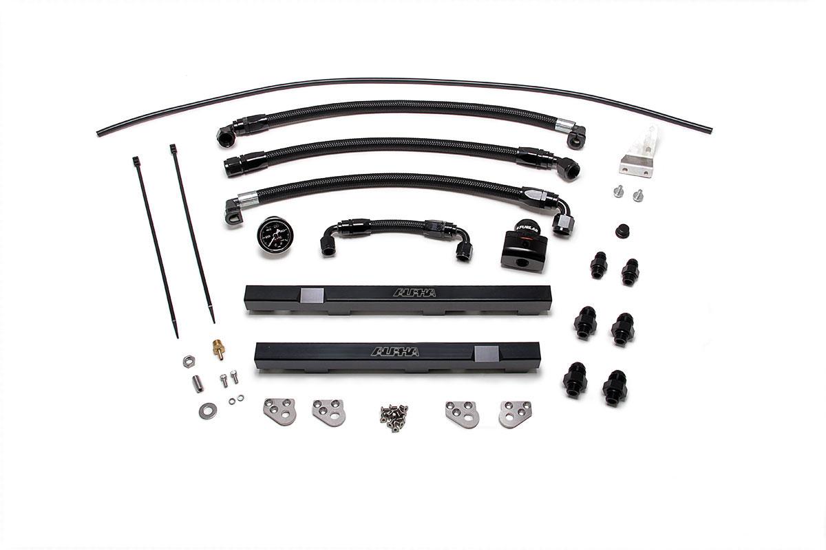 Alpha R35 Gt R Fuel Rail Upgrade Package