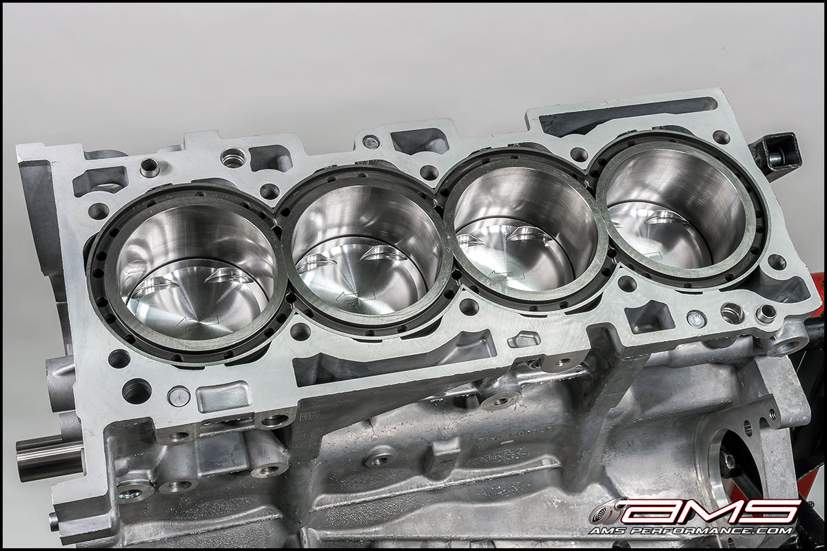 hight resolution of ams mitsubishi lancer evolution x 2 4l big bore stroker 4b11t block 4g63 engine