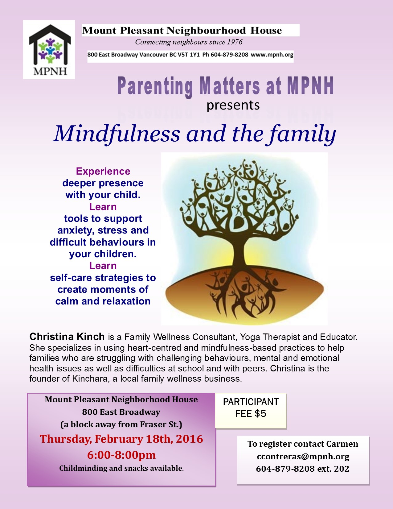 Parenting Matters Mindfulness And The Family