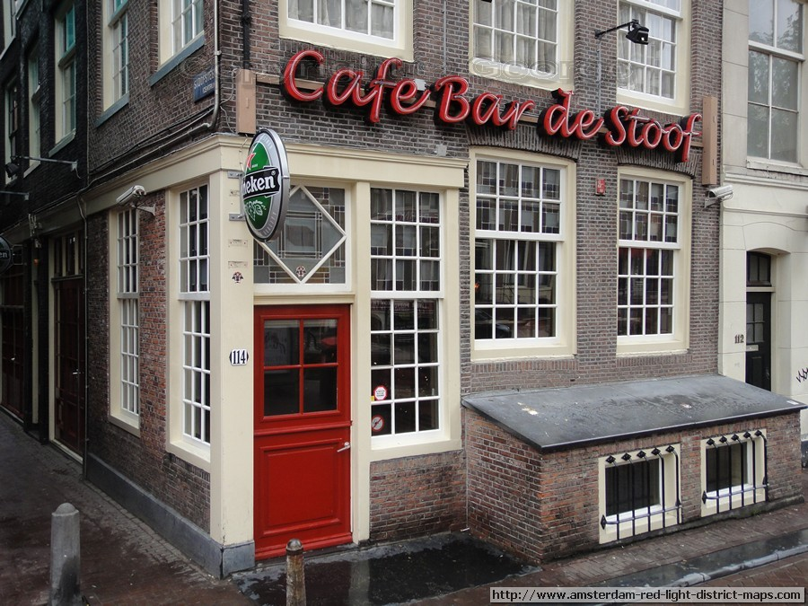 Amsterdam Red Light District  Cafe Bar de Stoof
