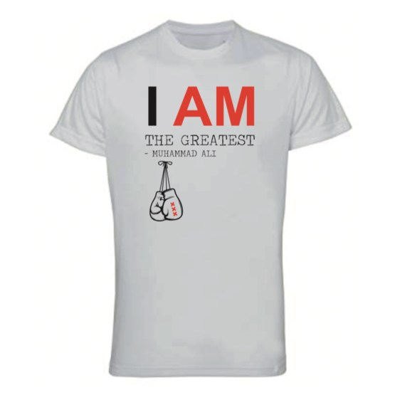 boks t-shirt i am the greatest man