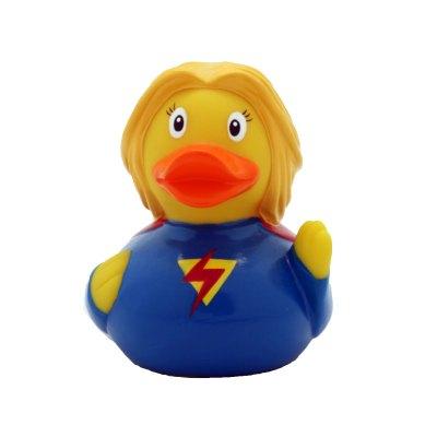 superwoman rubber duck