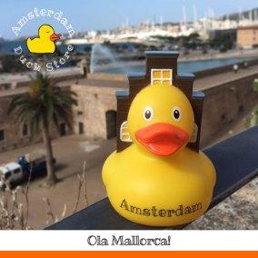 Visiting dear friends in beautiful Palma de Mallorca! @ Mallorca Duck Store