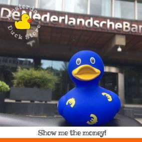Money talks @De Nederlandsche Bank Amsterdam