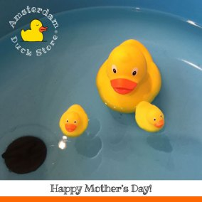Happy mothersday!...@Amsterdam Duck Store
