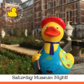 On the first Saturday in November it's Museum Night in Amsterdam.