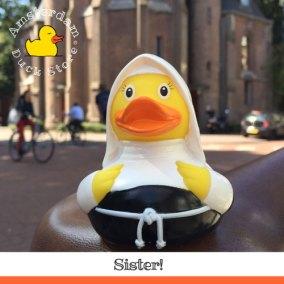 So much fun hanging out with a nun @ Vondelkerk Amsterdam