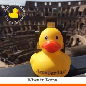 Amsterdam Duck Colosseum Rome Amsterdam Duck Store