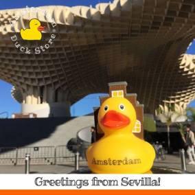 Amsterdam Duck Sevilla visit Amsterdam Duck Store