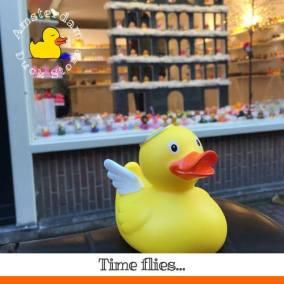 Angel rubber duck Oude Leliestraat Amsterdm Duck Store