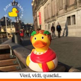 Cesar duck Allard Pierson Museum Amsterdam Duck Store 2