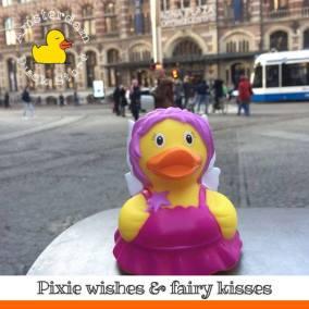 Pixie rubber duck Magna Plaza Amsterdam Duck Store