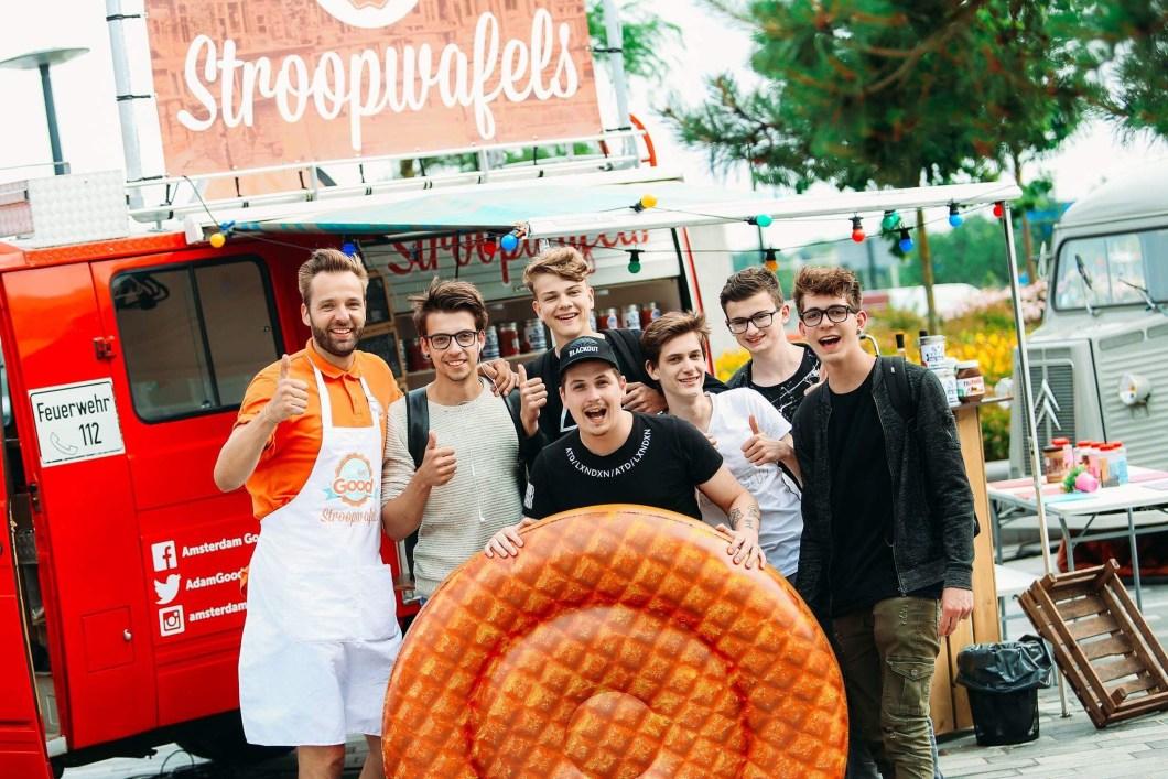 Stroopwafels Amsterdam! Good Cookies Stroopwafels Barrel Food Truck Fest 2017 66