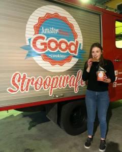 Amsterdam! Good Cookies Stroopwafel Designer and intern Erna