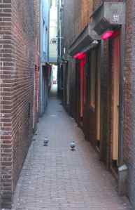 Amsterdam red light district best street