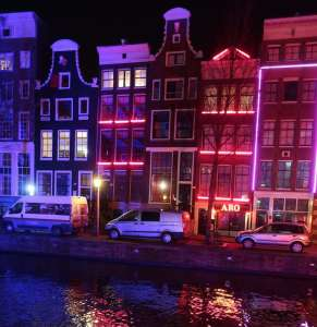 male prostitute Amsterdam Red Light District