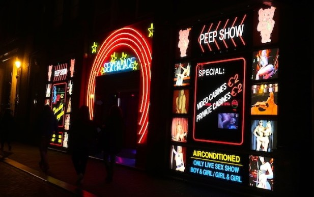 Amsterdam Red Light District Questions Peep Show
