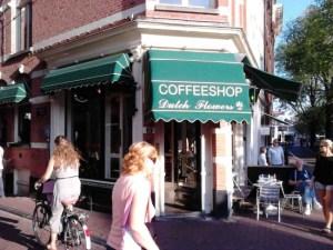 Amsterdam's Coffeeshop Dutch Flowers